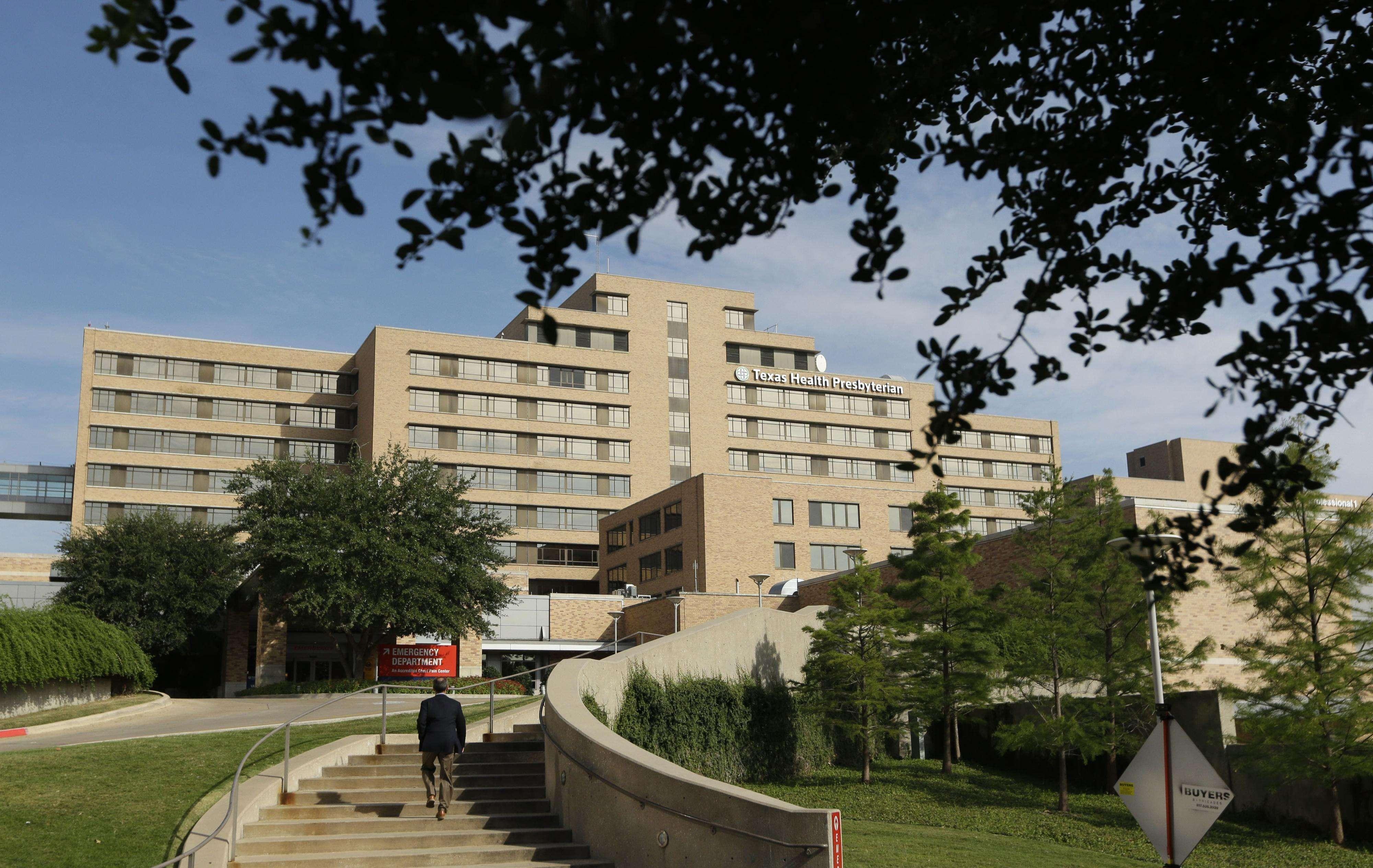 Exterior del hospital Texas Health Presbyterian en Dallas, en foto de archivo del 30 de septiembre de 2014. Foto: AP en español
