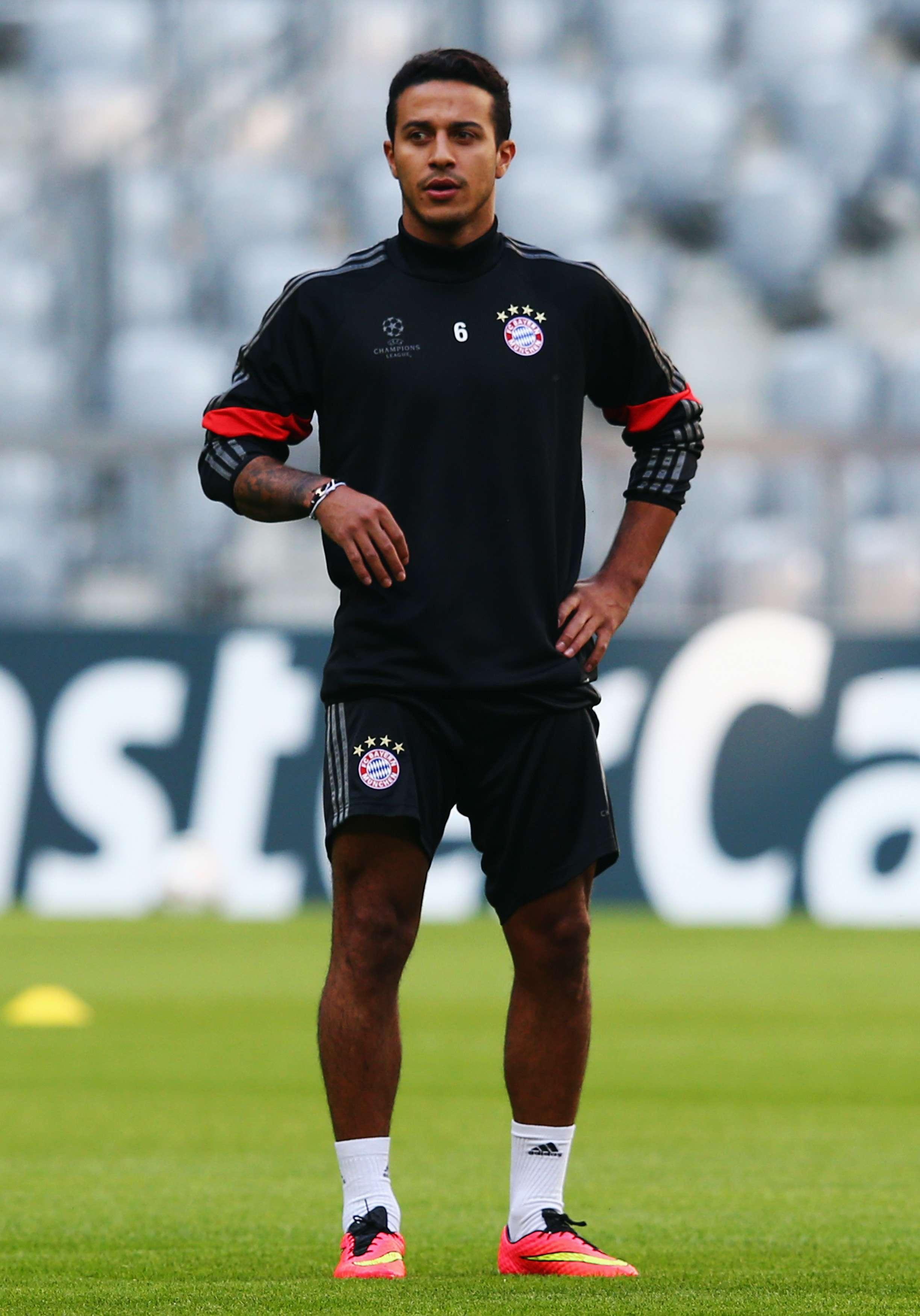 Thiago salió bien de la operación. Foto: Getty Images
