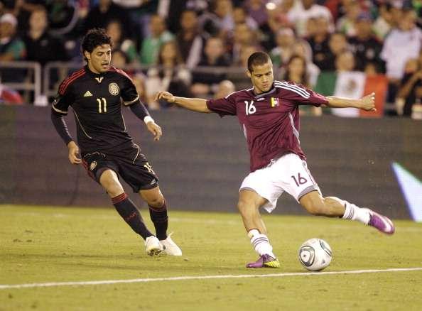 El último partido de Vela en el Tri fue ante Venezuela, en marzo de 2011. Foto: Getty Images