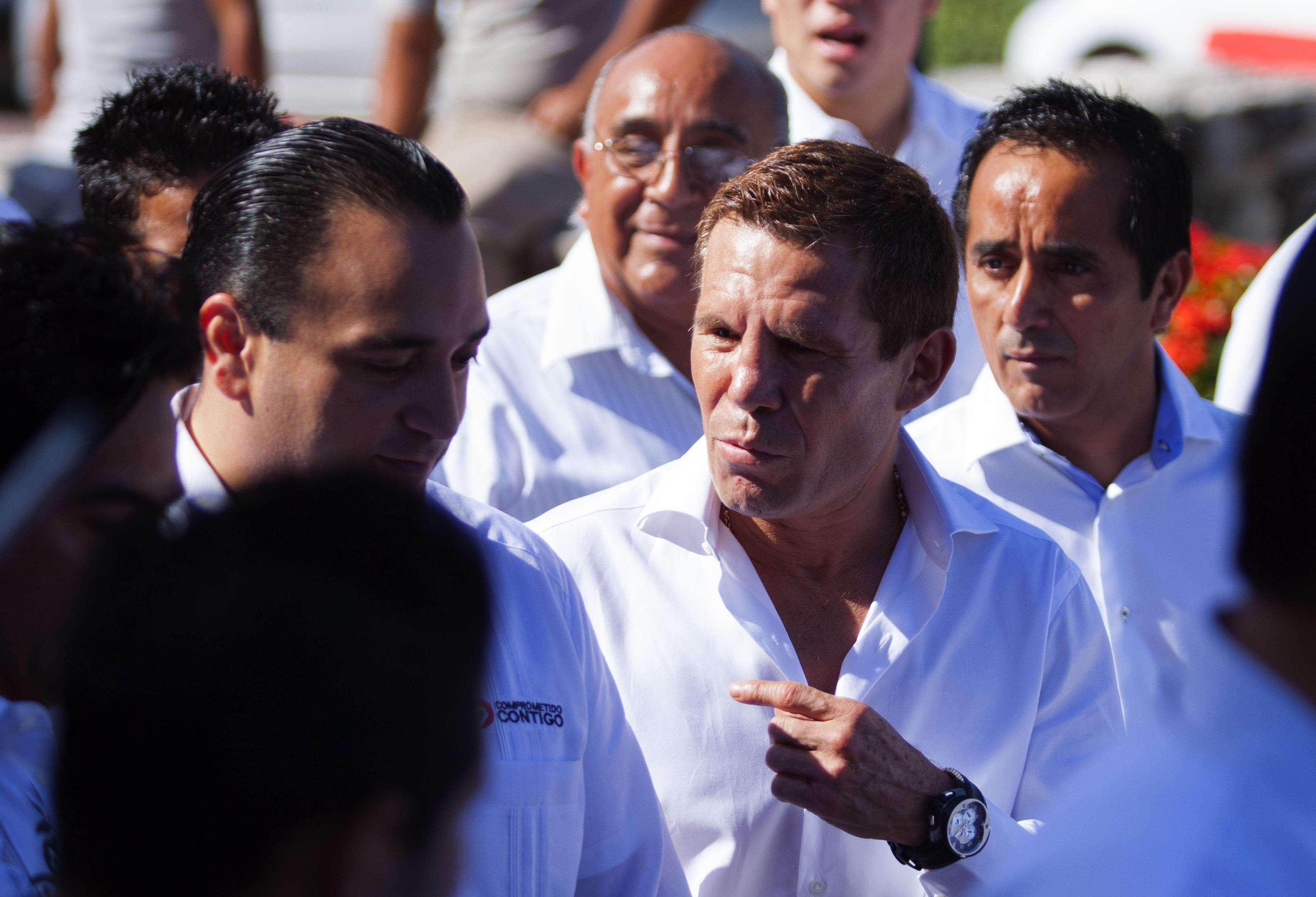 La única preocupación que tiene Chávez es su nariz. Foto: Mexsport