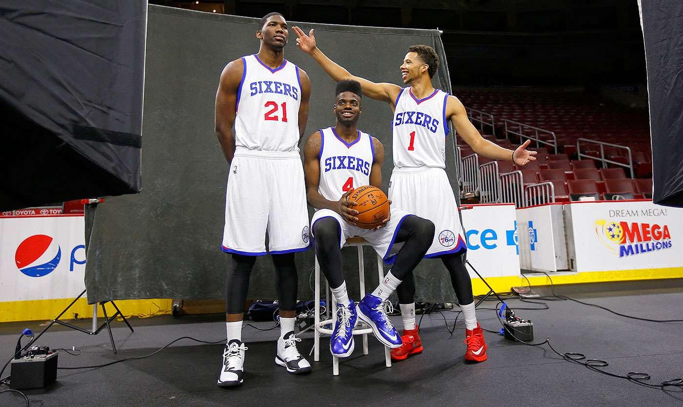 Las nóminas de los equipos de la NBA en la temporada 2014-15: 30. Los Philadelphia 76ers tiene la nómina más baja de toda la liga con 30,484,909 millones de dólares. Foto: AP
