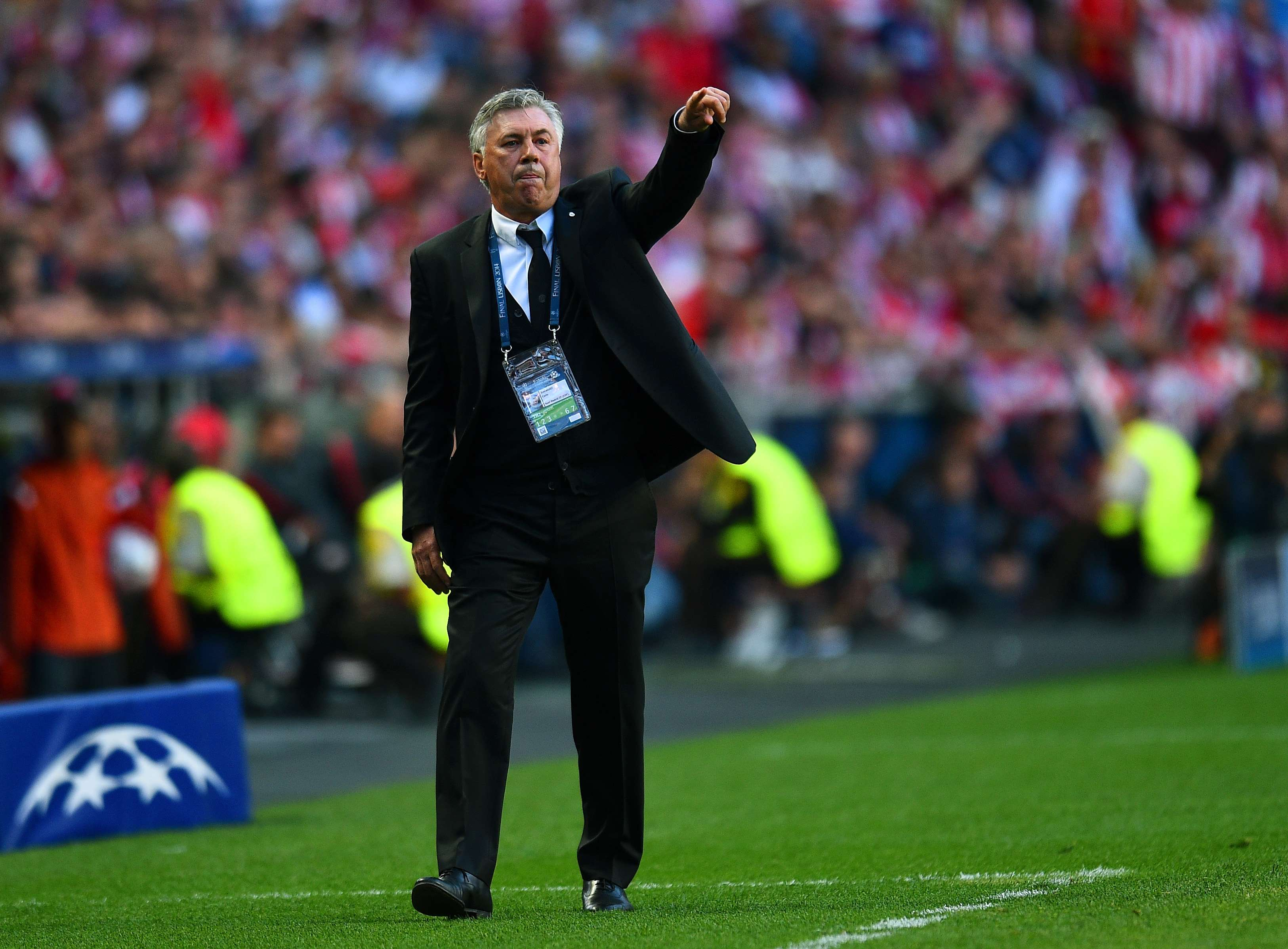 Ancelotti Foto: Getty Images