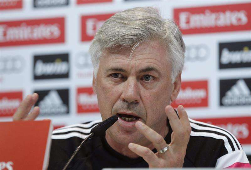 Ancelotti. Foto: EFE en español