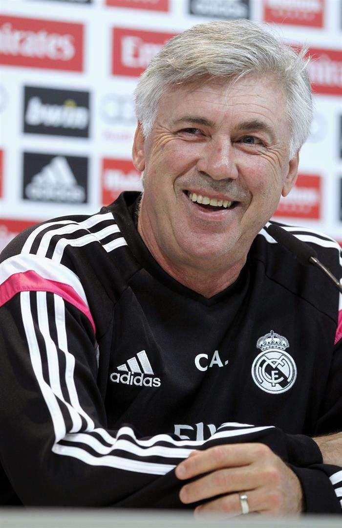 Ancelotti elogió las cualidades de Suárez. Foto: EFE en español