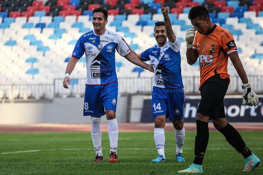 """Los """"Pumas"""" ganaron 5-0 a los """"Piratas"""". Foto: Agencia UNO"""