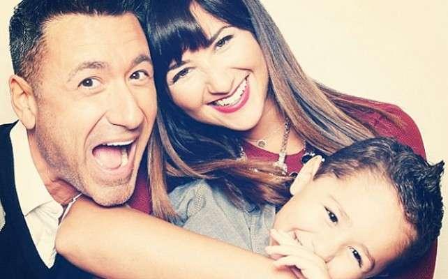 Jorge Bernal, Karla Birbragher y su hijo Lucas. Foto: Instagram/Jorge Bernal
