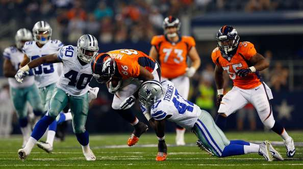 Broncos y Cowboys apuntan al Super Bowl. Foto: Getty Images