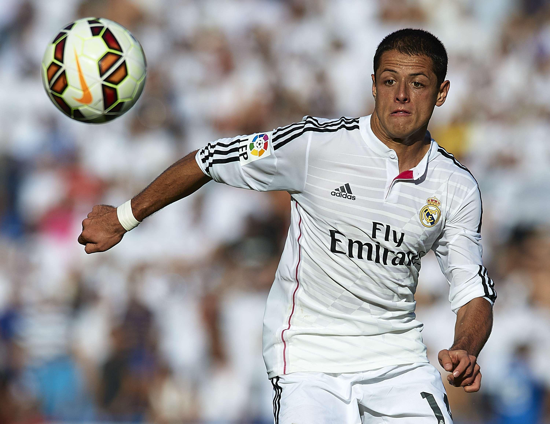 Javier Hernández podría quedarse en el Real Madrid. Foto: Getty Images