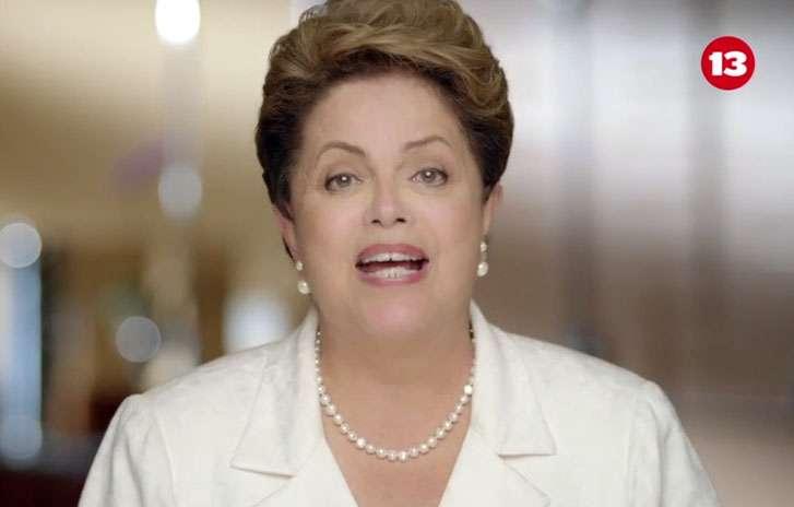 """Na TV, Dilma diz que capa da Veja """"envergonha a imprensa"""" Foto: Reprodução"""