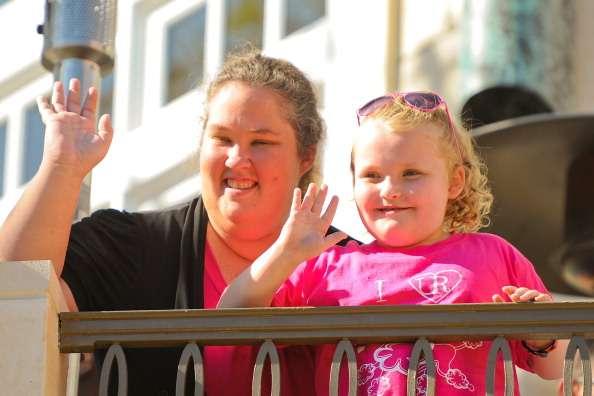 Shannon e Alana, ou Mama June e Honey Boo Boo, como ficaram conhecidas com o reality show Foto: Getty Images