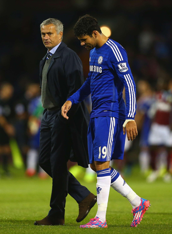 Mourinho espera poder utilizar a Costa unos minutos. Foto: Getty Images