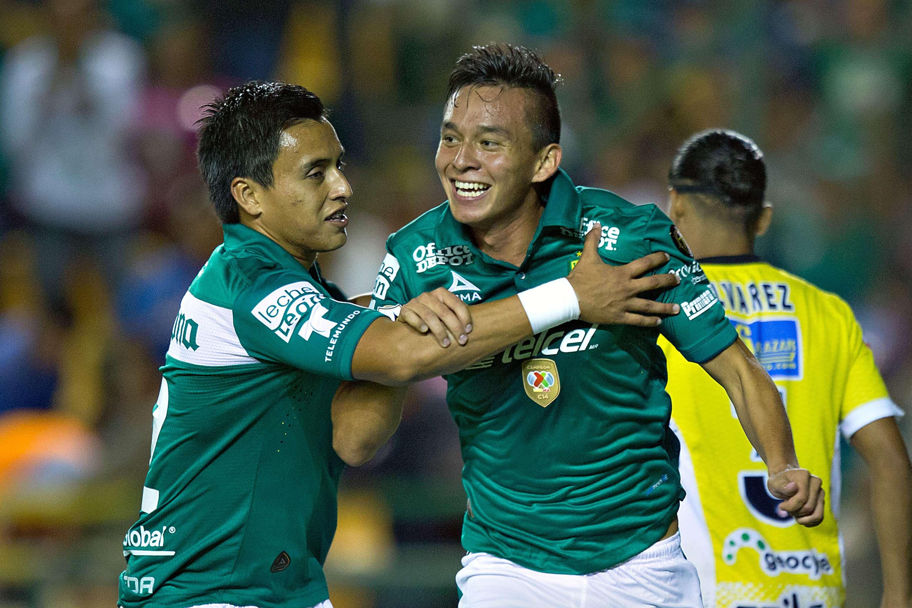 Jair Ruiz marcó dos goles en la victoria de León. Foto: Imago7