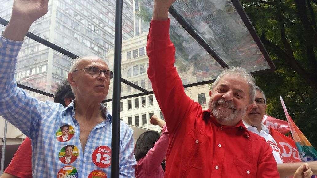 Dilma participou de ato em apoio à reeleição da presidente Dilma Foto: Thiago Tufano/Terra