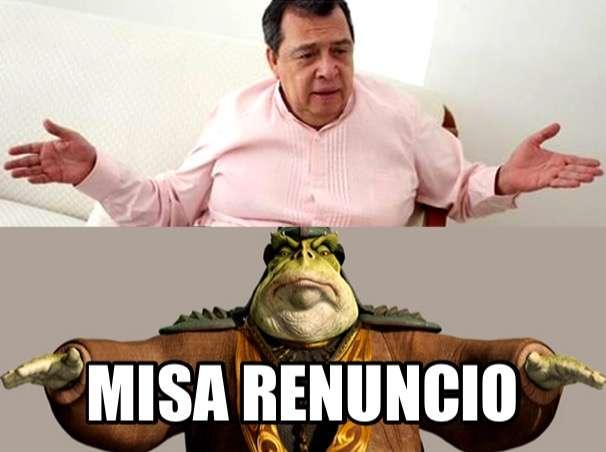 Memes por solicitud de licencia de Ángel Aguirre en Guerrero Foto: Twitter