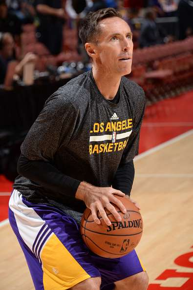 Nash, de 40 años, apenas jugó 15 partidos la temporada pasada por la misma lesión. Foto: Getty Images