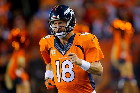 Manning lanzó tres touchdowns contra los Chargers. Foto: Getty Images