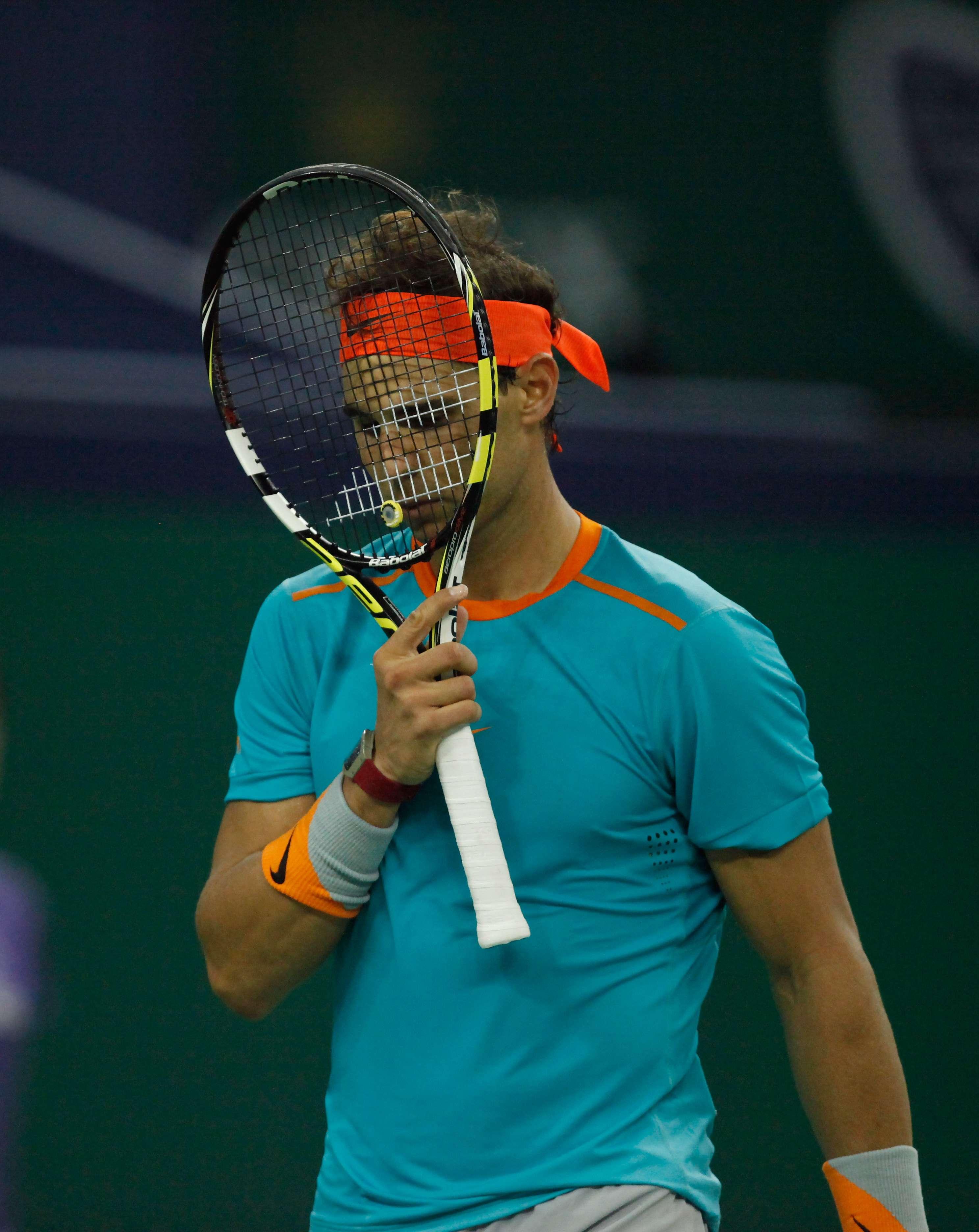 Nadal fue eliminado del torneo en Basilea. Foto: Getty Images
