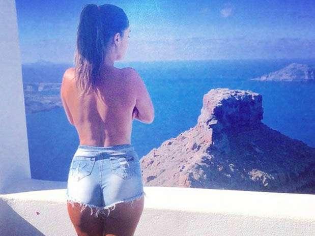 Tilsa Lozano conquista Europa con su figura de infarto. Foto: Facebook Tilsa Lozano