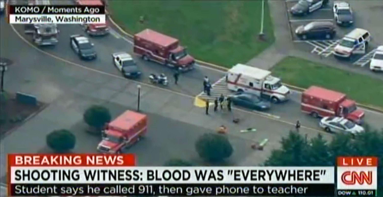 El último tiroteo en una escuela de la región ocurrió el 5 de junio en Seattle Pacific University, cuando un hombre armado mató a un estudiante e hirió a otros dos Foto: AFP en español