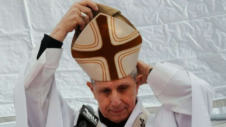 Monseñor Poli, reemplazante de Jorge Bergoglio. Foto: Noticias Argentinas