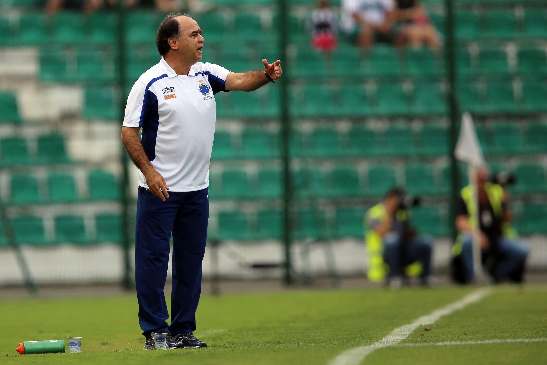 Marcelo Oliveira orienta Cruzeiro Foto: Cristiano Andujar/Getty Images