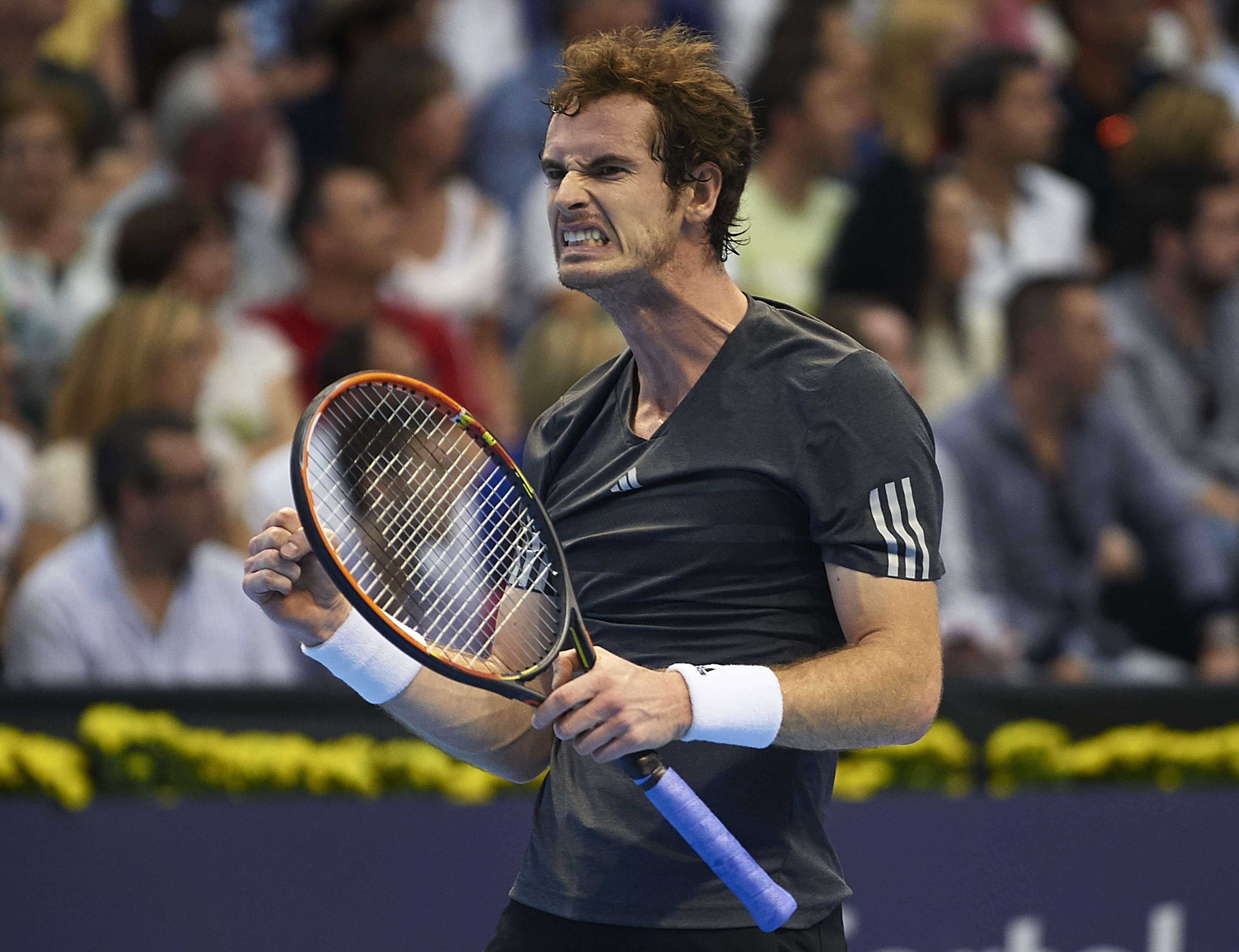 El escosés Andy Murray disfrutando abiertamente de su triunfo ante Ferrer Foto: Gettyimages