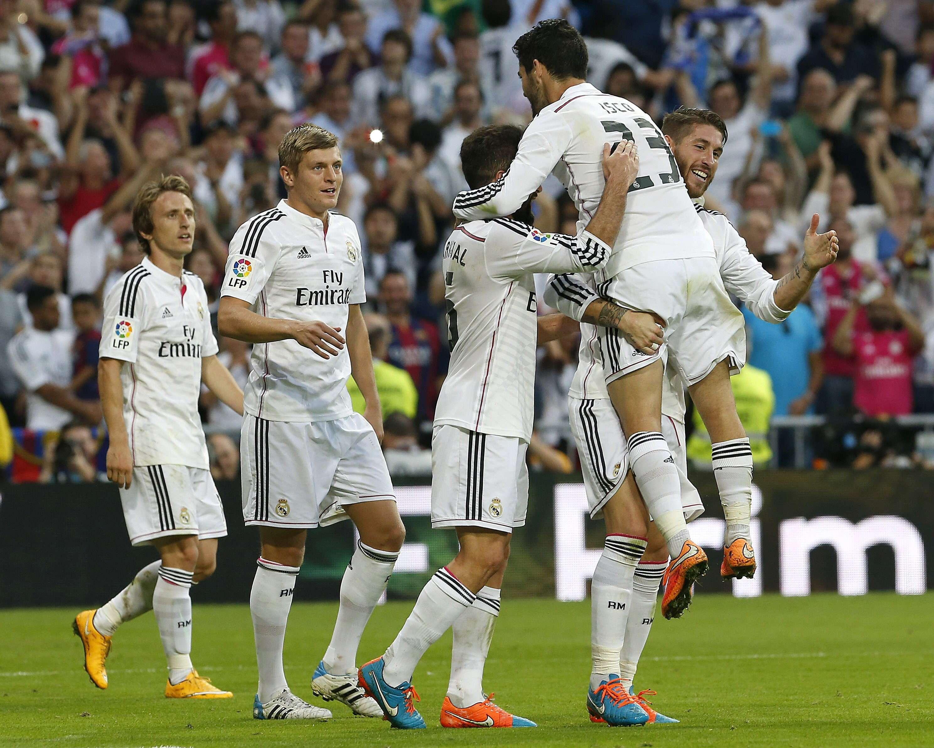 Real Madrid - Barcelona. Foto: EFE en español