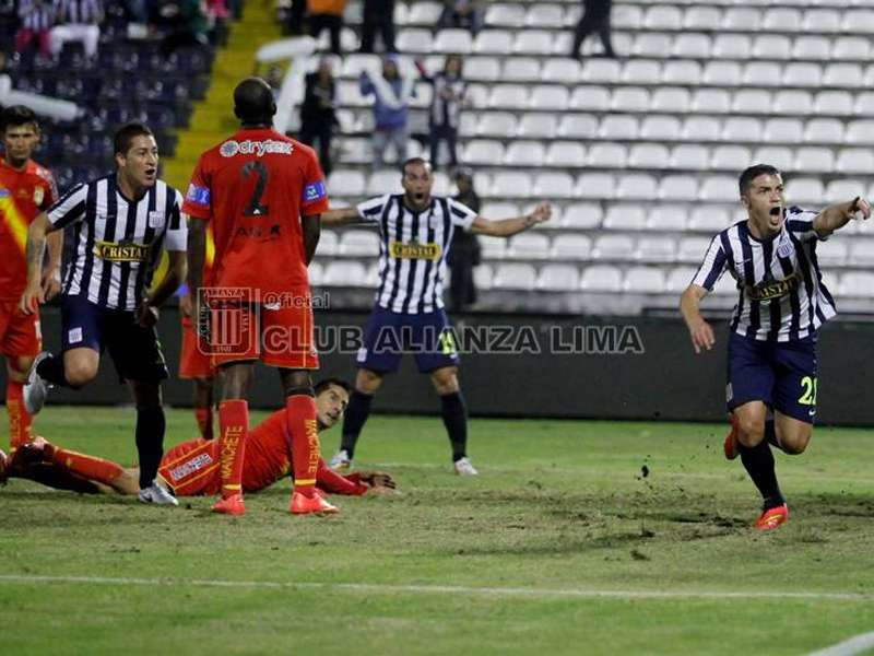 Alianza Lima y Sport Huancayo protagonizaron un intenso 4-3 en Matute en el Torneo Clausura. Foto: Facebook Alianza Lima
