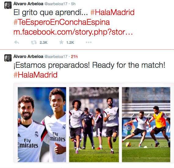Reacciones de los protagonistas de El Clásico en redes sociales, Twitter, Faceebook e Instagram. Foto: Twitter