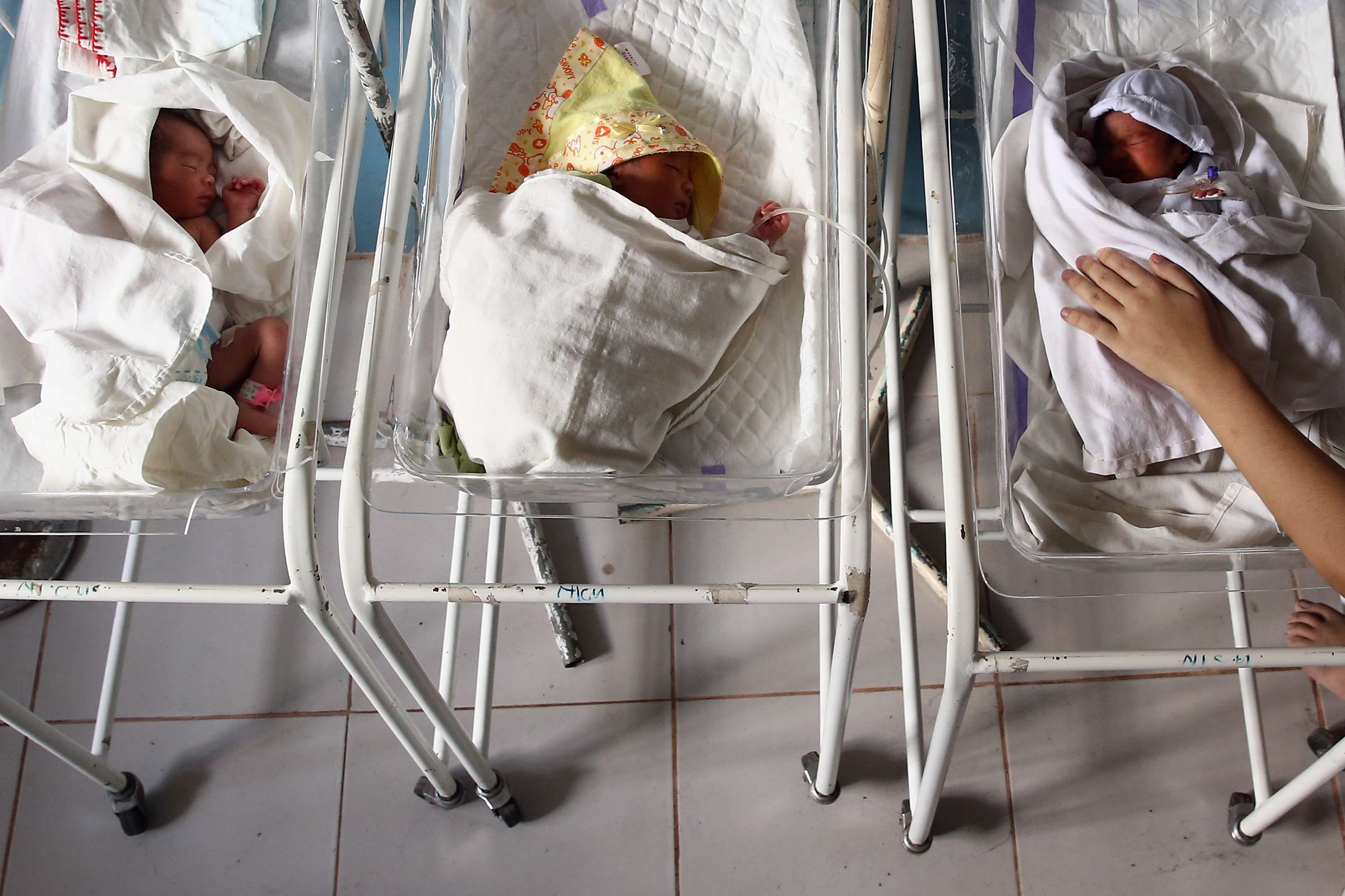 Bebés prematuros. Foto: Getty Images