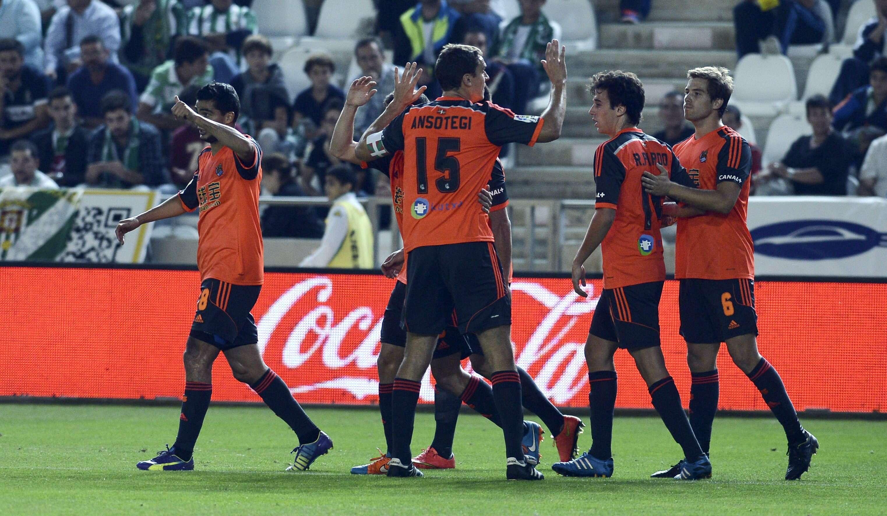 Vela jugó todo el partido ante Córdoba. Foto: EFE