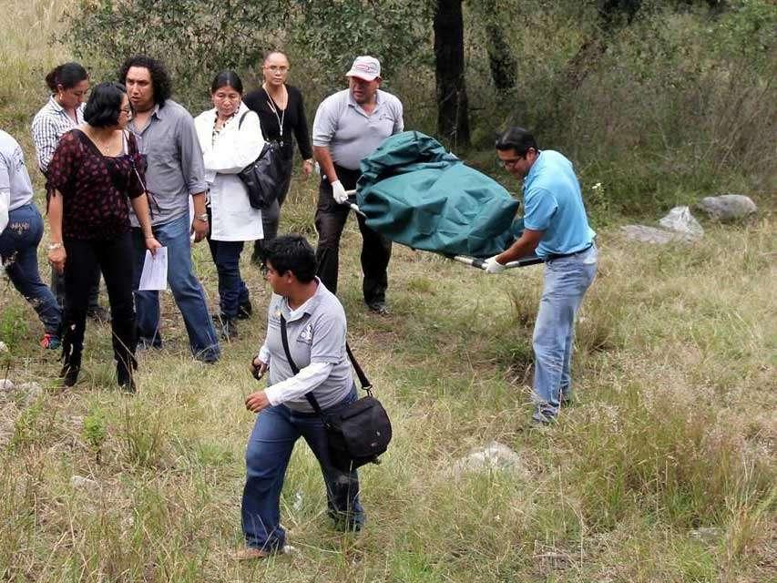 La pareja de la joven sometió a Iraís, le inyectó con una sustancia tóxica que le provocó la muerte. Foto: Reforma/Alberto Gálvez