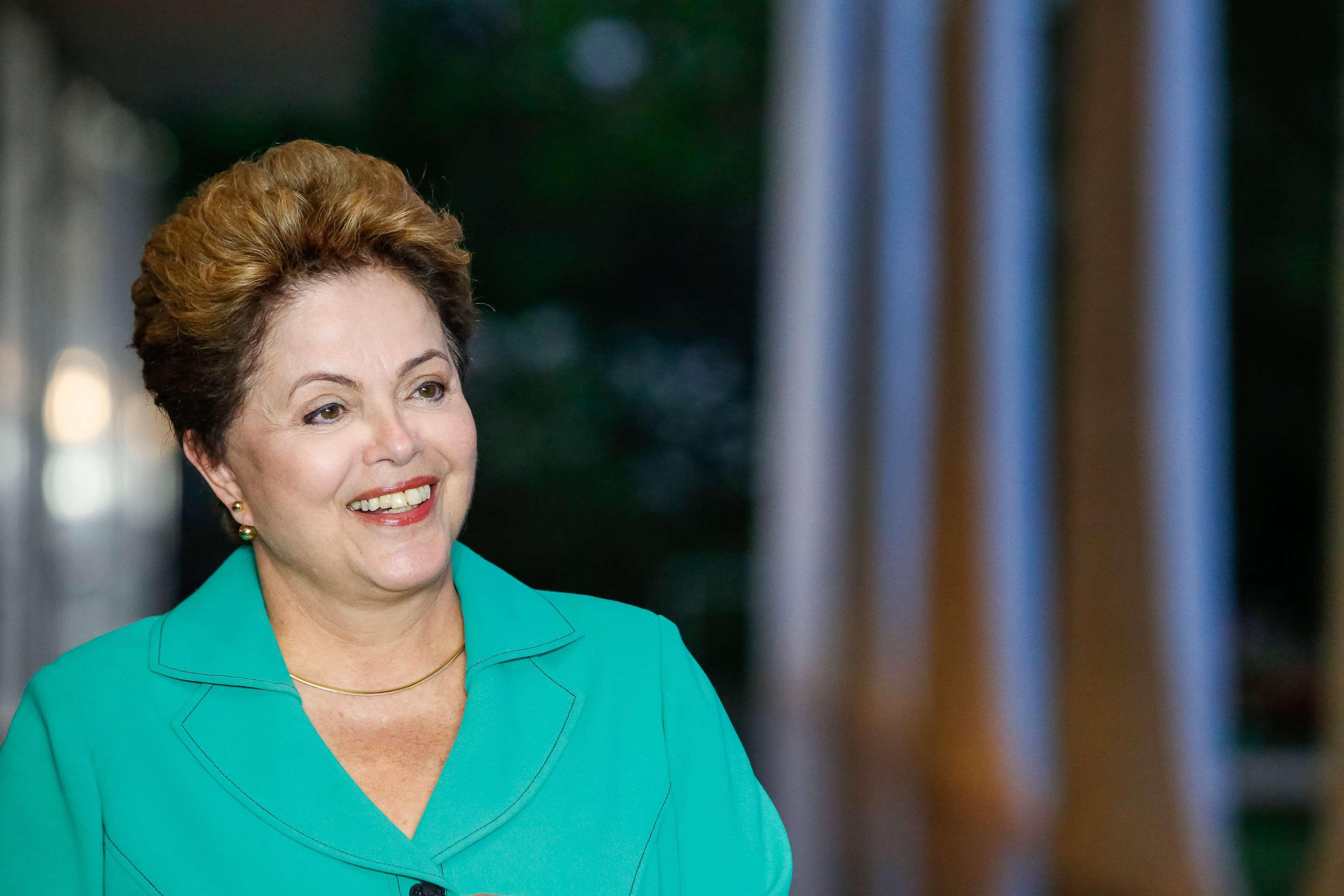 Dilma Rousseff durante entrevista em Brasília Foto: Ichiro Guerra/Fotos Públicas/Divulgação