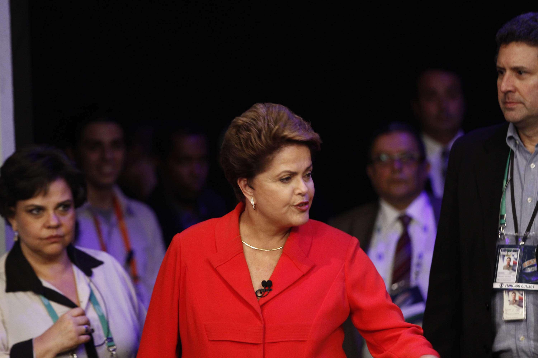 """""""A estratégia do engavetador para os casos de corrupção do seu governo deu certo"""", diz Dilma sobre casos de corrupção não investigados no governo do PSDB Foto: Ale Silva/Futura Press"""