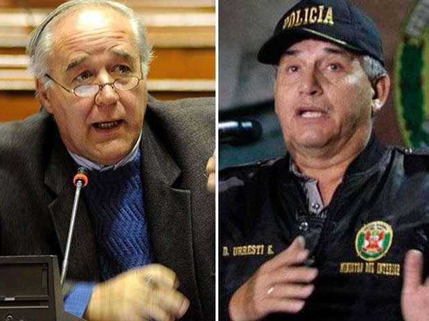 Andrés García Belaúnde / Daniel Urresti. Foto: Difusión