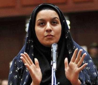 Reyhaneh Jabbari foi enforcada neste sábado por ter matado homem que a estuprou quando tinha apenas 19 anos Foto: Twitter