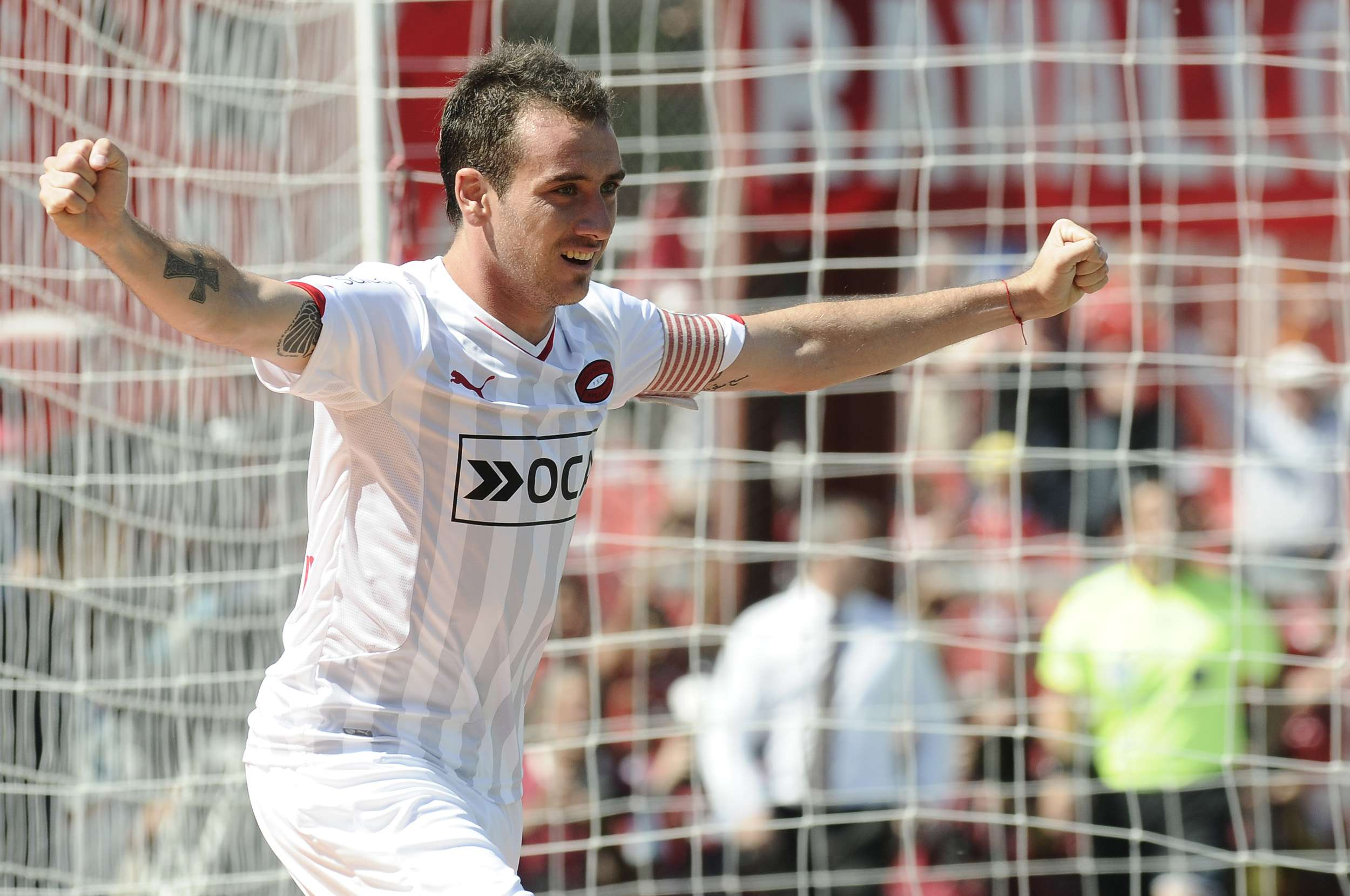 Mancuello otra vez fue figura en Independiente. Foto: Agencias