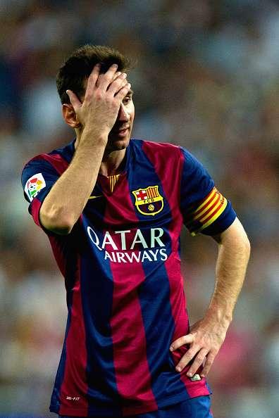 Messi dio uno de sus peores partidos con el Barcelona. Foto: Getty Images