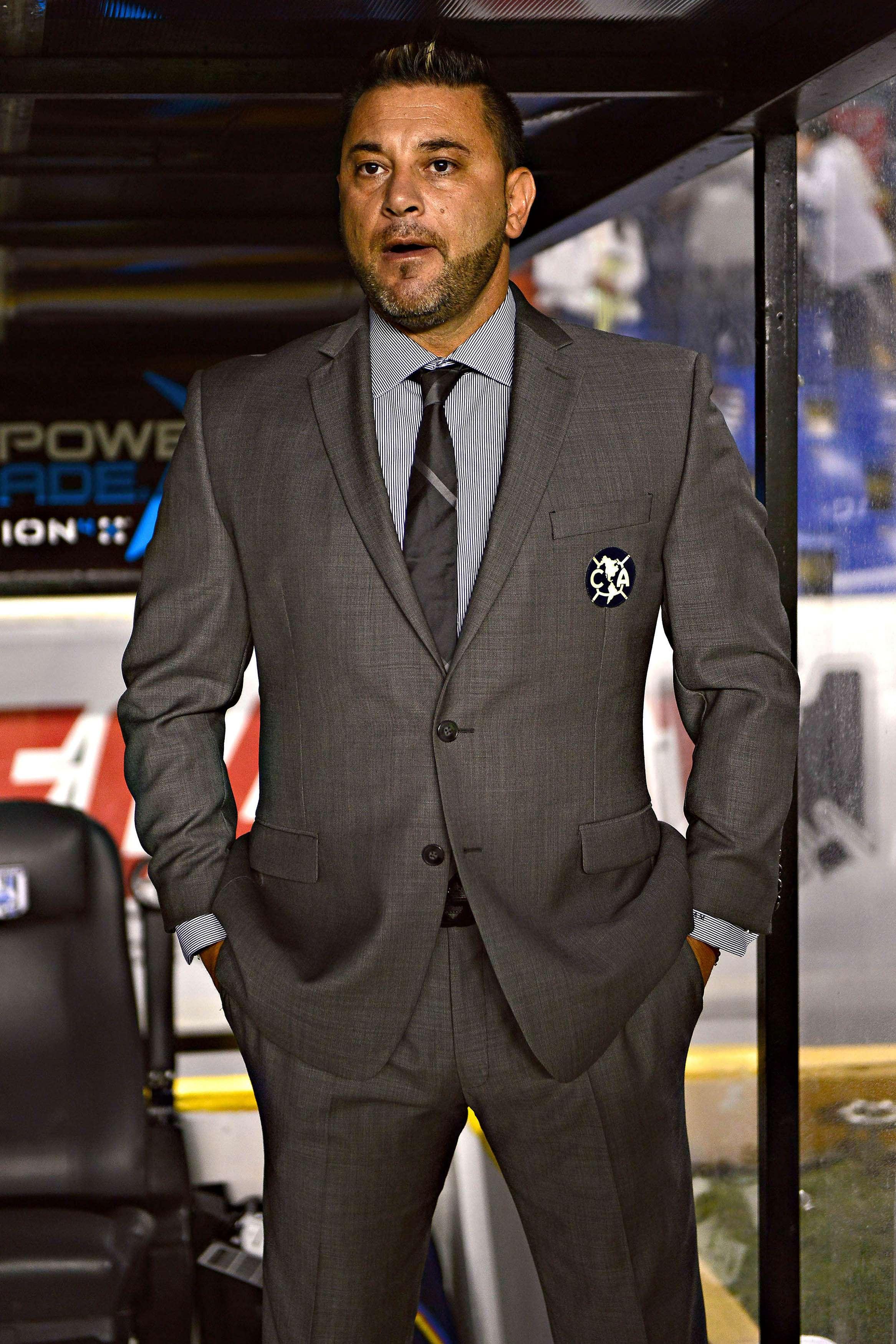Antonio Mohamed, director técnico del América. Foto: Mexsport