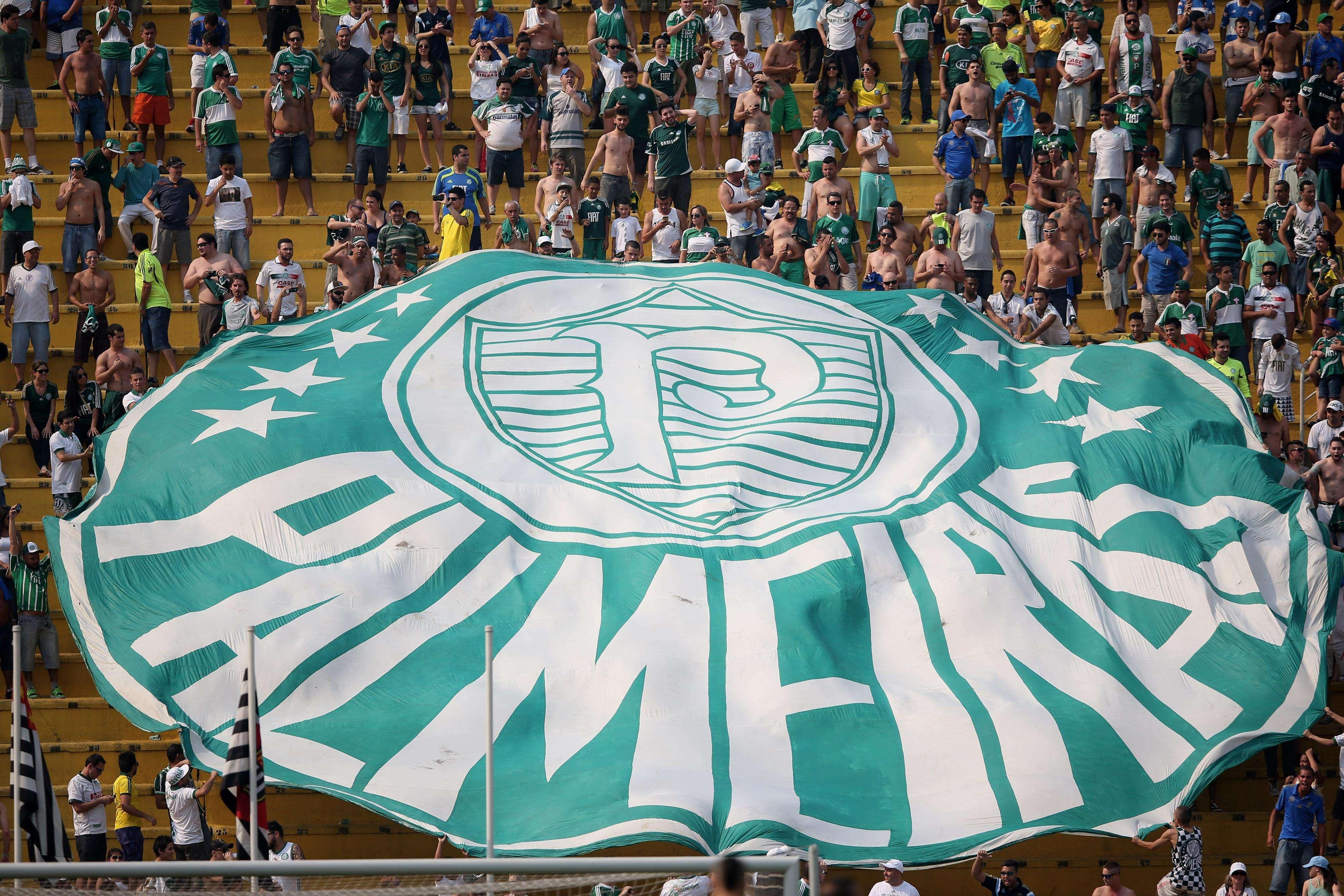 Torcida do Palmeiras voltará a ser maioria contra o Corinthians após dois anos Foto: Friedemann Vogel/Getty Images