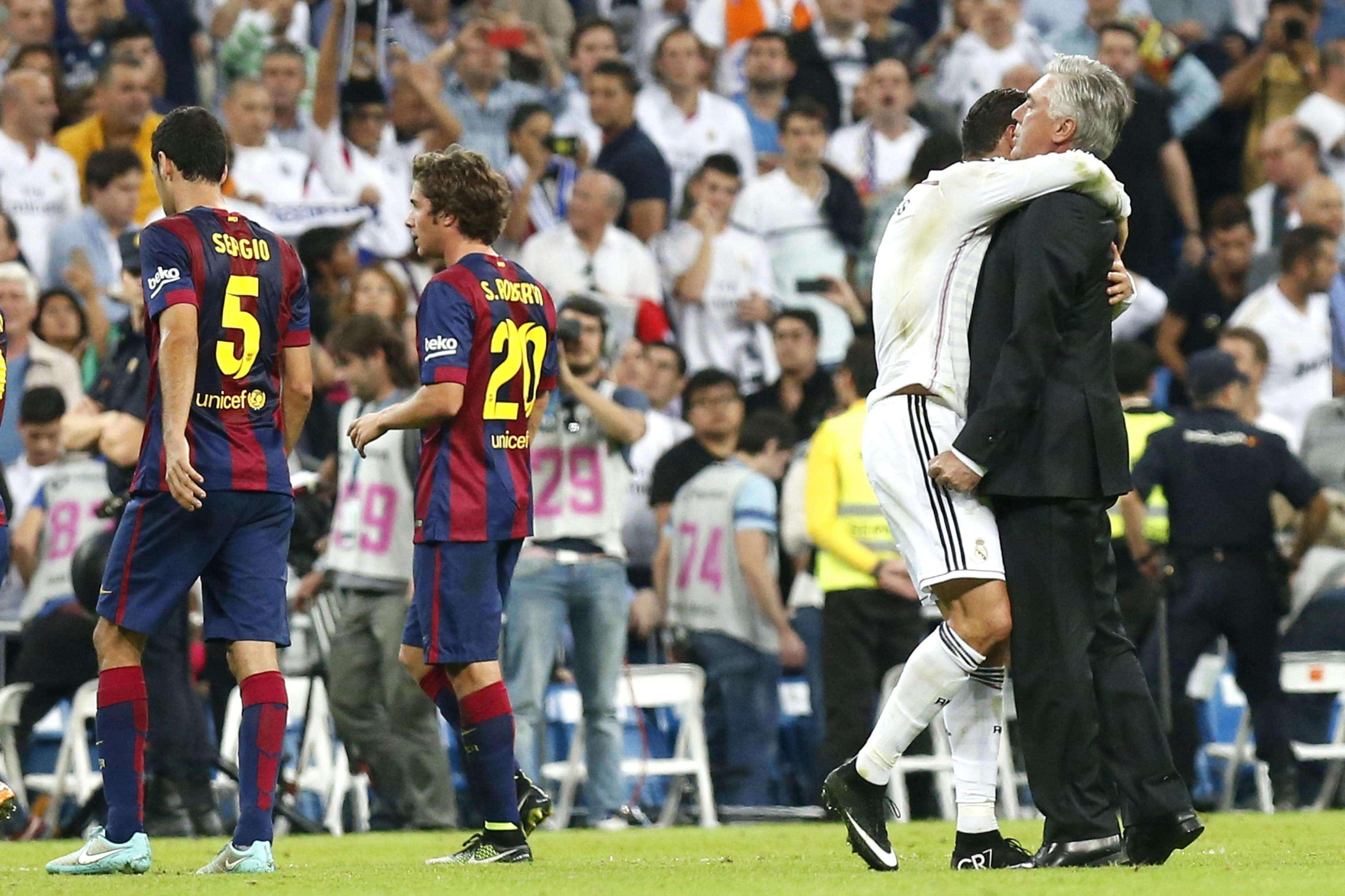 Real Madrid superó al Barcelona y ha puesto interesante la Liga de España. Foto: EFE