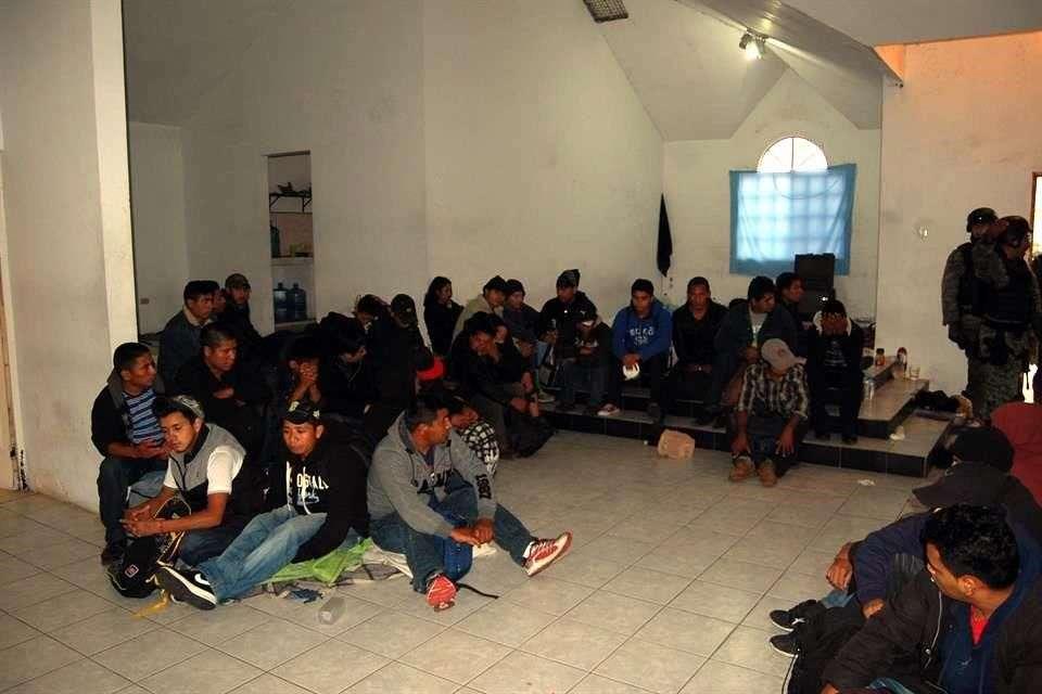 En febrero de este año, autoridades de Tamaulipas informaron que elementos del Ejército rescataron a 61 personas que se encontraban privadas de su libertad en Reynosa Foto: Archivo/Reforma