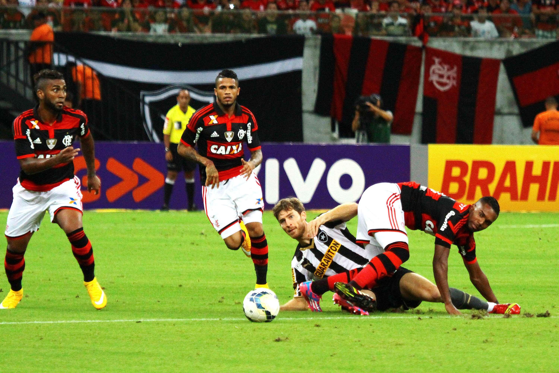 Botafogo e Flamengo jogaram na Arena da Amazônia Foto: Edmar Barros/Futura Press