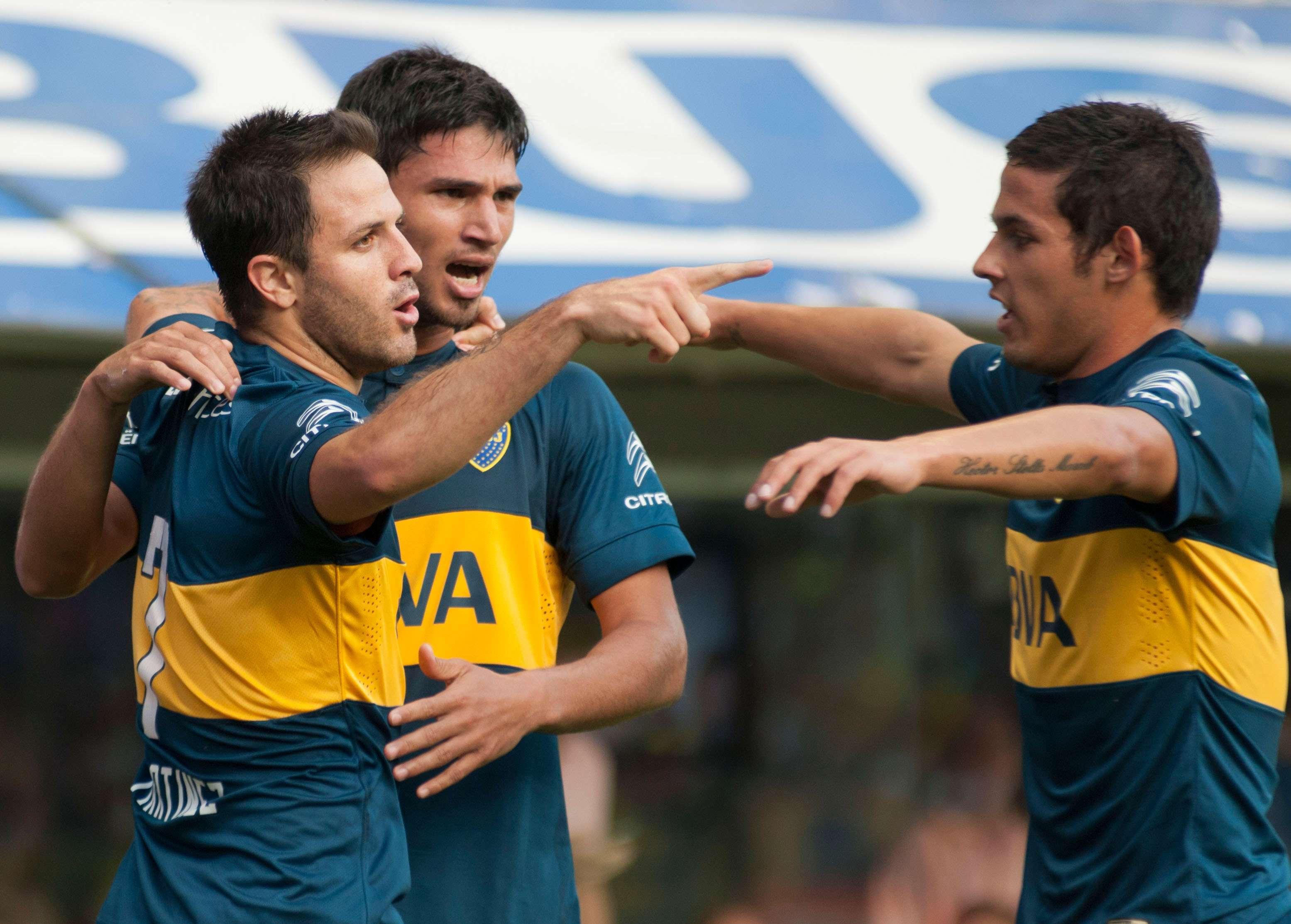Boca le ganó 2 a 0 a Defensa y Justicia, Lanús derrotó a San Lorenzo 1 a 0 y Estudiantes hizo lo propio con Quilmes, también 1 a 0. Foto: Agencias