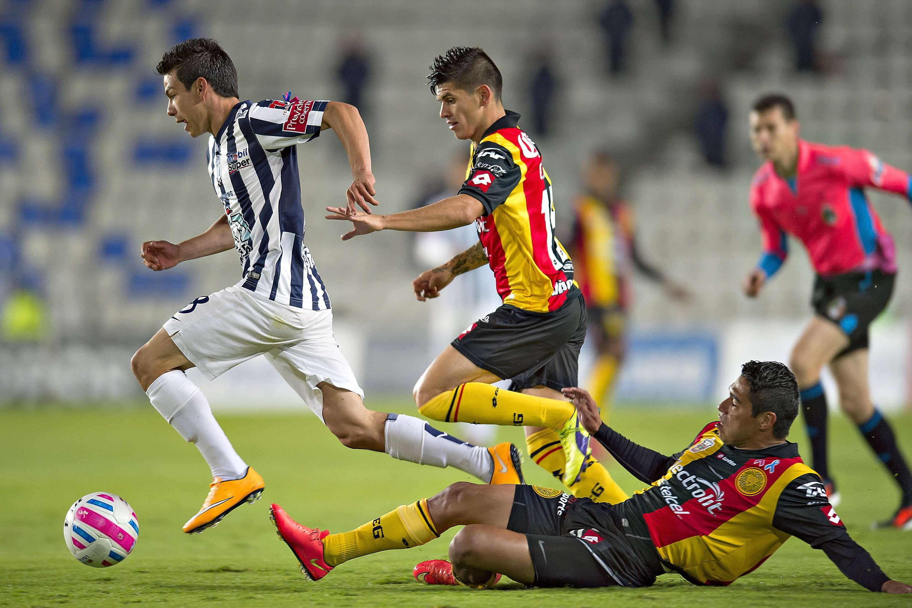 Pachuca y Leones Negros empatan 0-0 en el Estadio Hidalgo. Foto: Mexsport