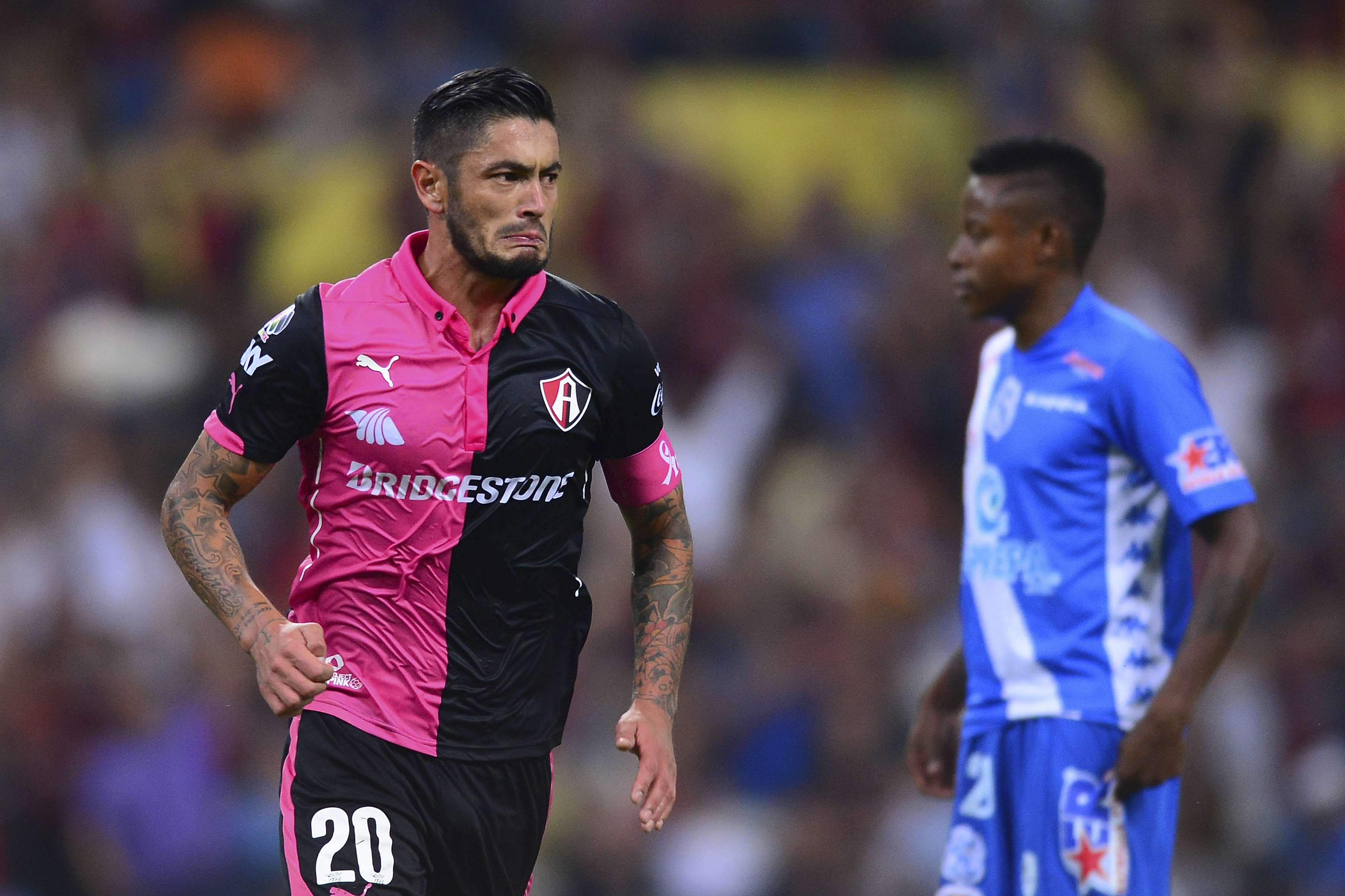 Con goles de Rodrigo Millar y Martín Barragán, Atlas remontó para vencer a Puebla, por quienes anotó Freddy Pajoy Foto: Mexsport
