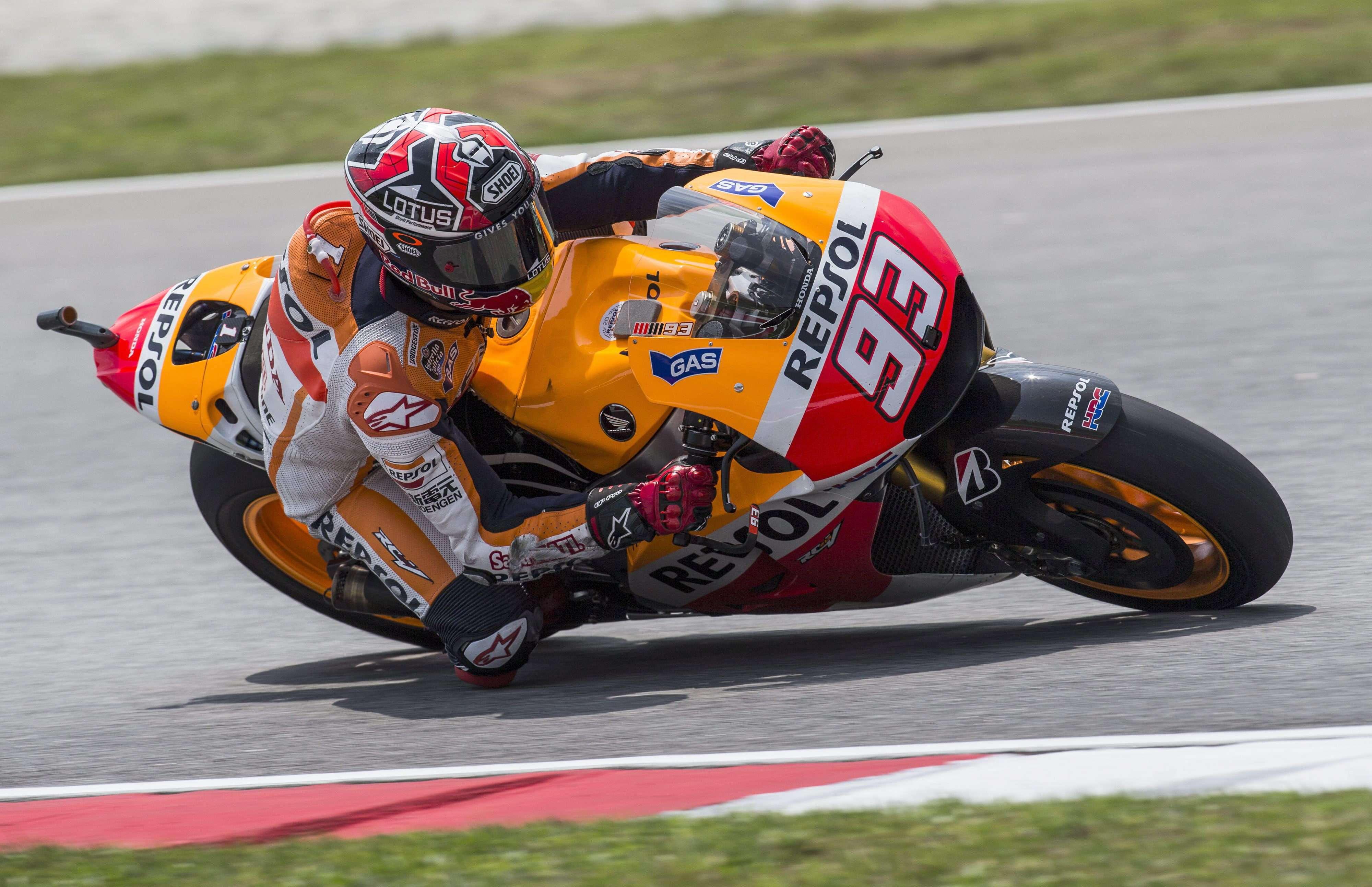 Marc Márquez en el GP de Malasia. Foto: EFE en español