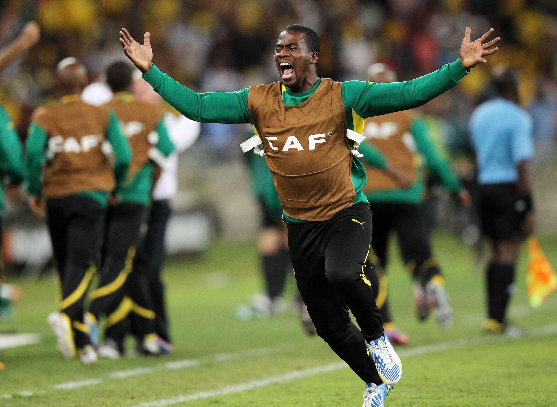 Senzo Meywa, em ação em 2013 pela seleção da África do Sul Foto: Getty Images