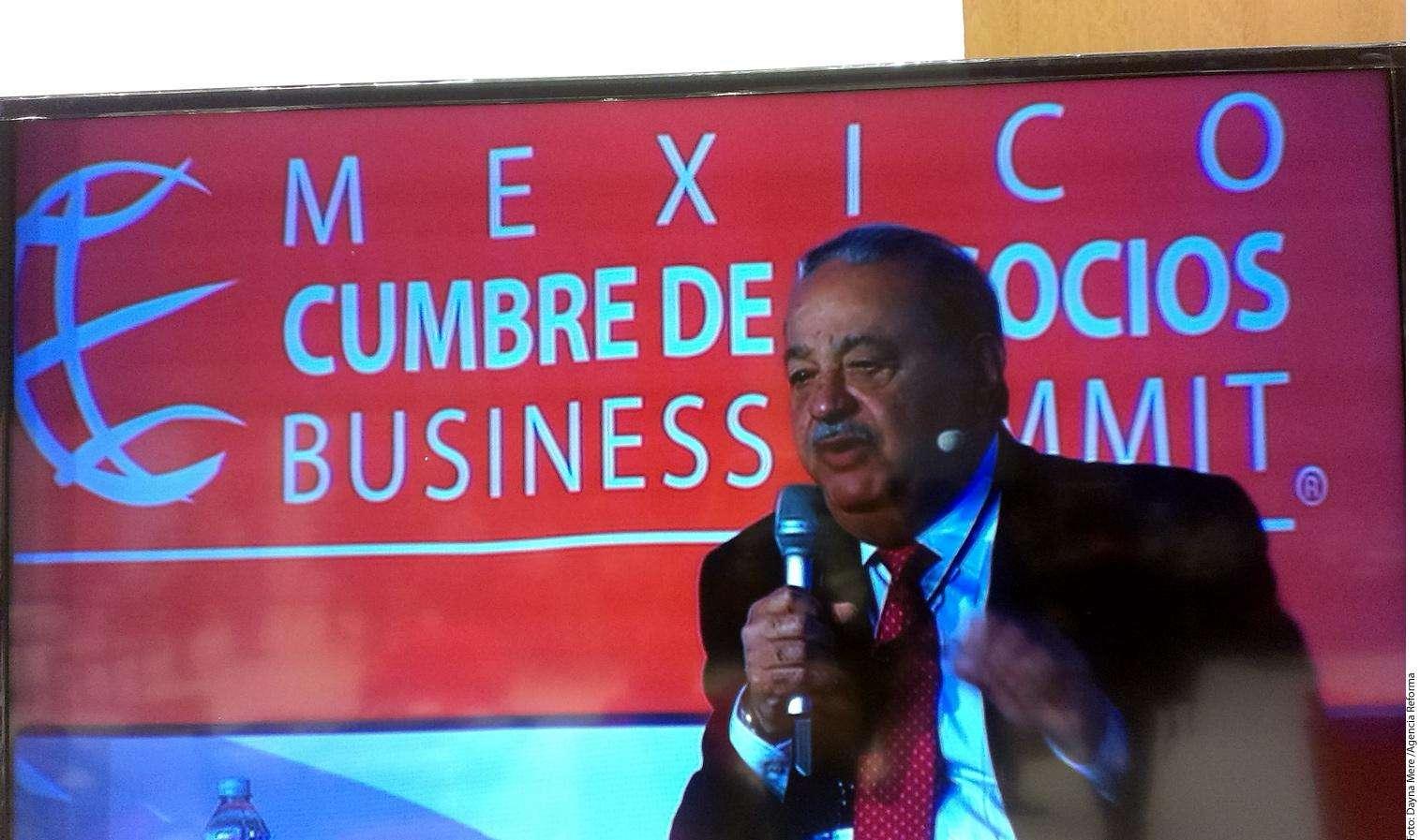 Carlos Slim Foto: Agencia Reforma