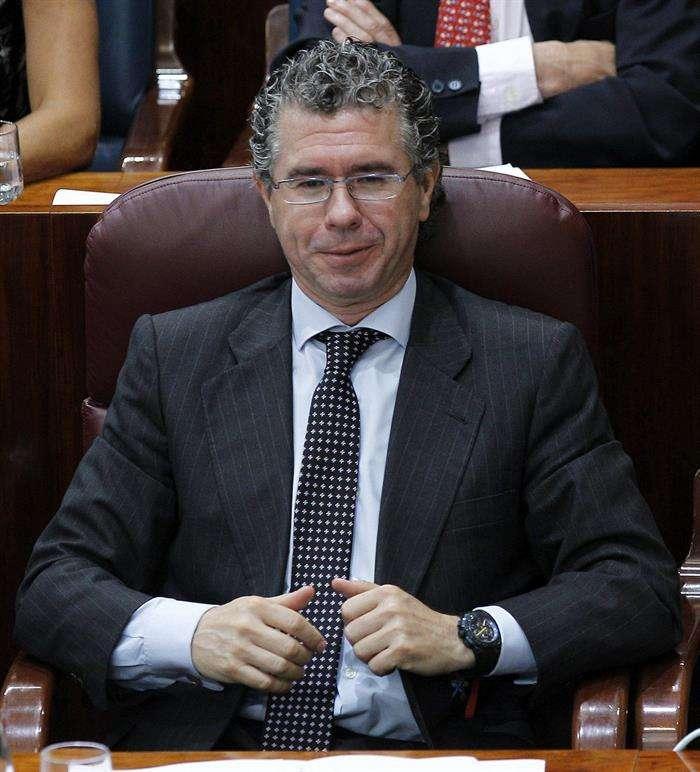 -El exvicepresidente de la Comunidad de Madrid Francisco Granados. Foto: EFE en español